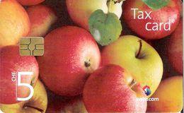 Swisscom: CP190 Schweizer Früchte, Äpfel. GM 4, 02.12 - Suisse