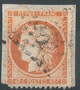 Lot N°36778  Variété/n°38/fragment, Oblit GC, Filet EST Pratiquement Absent - 1870 Siege Of Paris