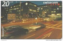Swisscom: CP84 24 Momente Auf 24 Taxcards: 18.00 Stosszeit, Zürich - Suisse