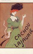 Cpa -les Affiches Célèbres-par L.Cappiello-Cachou Lajaunie - Advertising