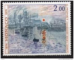 """MONACO N° 969 XX Centenaire De La Fondation Des """"Impressionistes"""" : Monet TB - Unclassified"""
