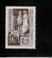 425303526 ARGENTINIE DB 1961 POSTFRIS MINTNEVER HINGED POSTFRIS NEUF YVERT 653 654 - Unused Stamps