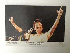 AK  PHILIPPINES  CORAZON C. AQUINO   1987. - Philippines
