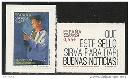 2015-ED. 4940 Y 4941 -SERIE COMPLETA-Disello. 1er. PREMIO CAT. JUVENIL Y GENERAL-NUEVO - 2011-... Unused Stamps