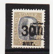 MAG1387  ISLAND 1925  Michl 112 Used / Gestempelt  ZÄHNUNG Siehe ABBILDUNG - 1918-1944 Unabhängige Verwaltung