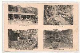 Comblanchien -  Carriere De La Combe  - Multivues  - Tournage - Taille -  -  CPA° - Frankreich