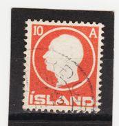 MAG1391  ISLAND 1912  Michl 70 Used / Gestempelt  ZÄHNUNG Siehe ABBILDUNG - 1918-1944 Unabhängige Verwaltung