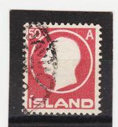 MAG1393  ISLAND 1912  Michl 72 Used / Gestempelt  ZÄHNUNG Siehe ABBILDUNG - 1918-1944 Unabhängige Verwaltung