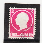MAG1395  ISLAND 1912  Michl 74 Used / Gestempelt  ZÄHNUNG Siehe ABBILDUNG - 1918-1944 Unabhängige Verwaltung