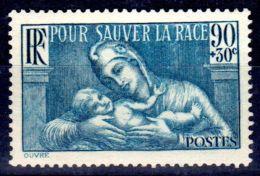 20.1.1939; Zugunsten Der Gesellschaft Für Gesundheitspflege; Mi-Nr. 437, Postfrisch **; Los 48795 - France