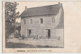 NEMOZ         CAFE DES  TROIS DEPARTEMENTS - Autres Communes