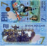 FIJI       7 Dollars       Comm.       P-New        ND (2017)        UNC - Fidji