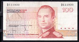 LUXEMBURGO 1993. 100 FRANCS  1981.MBC.B1046 - Luxembourg