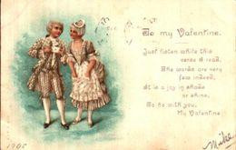 Couple Illustré 39 Costume Louis XV To My Valentine - Couples