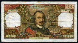250-France Billet De 100 Francs 1968 N E317 - 1962-1997 ''Francs''