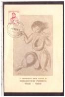 TEM7673   -    PESARO  13.11.1968     /       1° CENT. MORTE G.ROSSINI - Musica