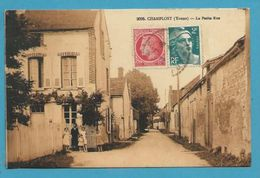 CPSM La Petite Rue CHAMPLOST 89 - Sonstige Gemeinden
