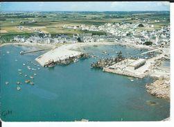 CPSM - 29 -  LESCONIL -  Le Port - ( La France Vue Du Ciel )  - Bon état - Rare Plan -1967- - Lesconil