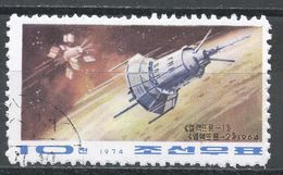 Korea, Democratic People's Republic 1974. Scott #1243 (U) Soviet Space Flights - Corée Du Nord