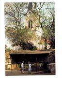 Cpm - 54 - BOUXIERES AUX DAMES - L'Eglise St Martin Et Le Lavoir - Animation Fillettes - France