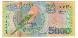 Suriname 5000 Gulden 2000 - Surinam