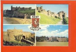 KENT - Castles,  Kingsgate, Dover, Deal, Leeds - England