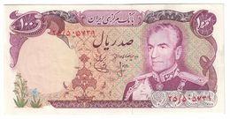 Iran 100 Rials 1974 UNC- - Iran