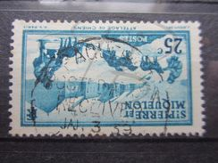 VEND TIMBRE DE SAINT-PIERRE ET MIQUELON N° 174 + CACHET !!! - Used Stamps