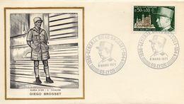 France. Enveloppe Fdc.  Diego Brosset. Lyon. 6/3/1971 - 1970-1979