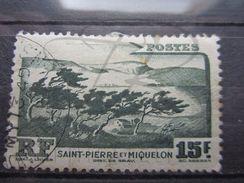 """VEND TIMBRE DE SAINT-PIERRE ET MIQUELON N° 341 , OBLITERATION """" NORTH SYDNEY """" !!! - Oblitérés"""