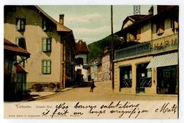 AK Schweiz VD VALLORBE Grand-Rue Ges. 11-8-1906 Photo Guggenheim #4701 - VD Vaud