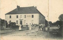 25 LE VALDAHON CENTRE DU VILLAGE BAS ANIME - CAFE RESTAURANT JULES AIGROT - France
