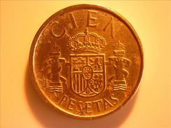 1988 - Espagne - Spain - CIEN PESETAS, Juan Carlos 1er - 100 Pesetas