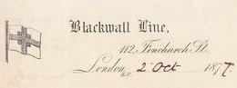 London, Blackwall Line, 1877 - United Kingdom