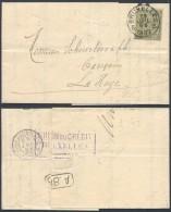 ZZ168 Lettre De Bruxelles à La Haye  ( Pays Bas Netherlands  ) 1892 - 1884-1891 Léopold II