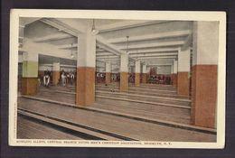 CPA USA - NEW YORK CITY - BROOKLYN - Bowling Alleys , Central Branch Young Men's Christian Association TB PLAN SPORT - Bowling