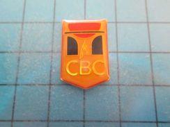 Pin1110 Pin´s Pins : CBC CLUB DE BASKET-BALL CAEN CALVADOS NORMANDIE   Marquage Au Dos : - ---  - - Basketball