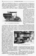 VOITURE SANITAIRE   1910 - Transportation
