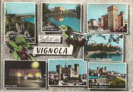 VIGNOLA(MODENA)  SALUTI DA ...-VEDUTINE -FG - Modena