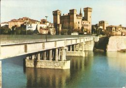 VIGNOLA(MODENA)  CASTELLO E PONTE SUL FIUME PANARO -FG - Modena