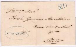 Portugal, 1847, Vila Do Conde-Porto - Portugal