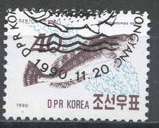 Korea, Democratic People's Republic 1990. Scott #2954 (U) Fat Greenling, Heragrammos Agoo, Fish, Poisson - Corée Du Nord