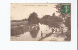 HAGETMAU (LANDES) 25 LES BORDS DU LOUTS (PETITE ANIMATION) 1912 - Hagetmau