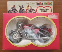 TRIUMPH 750 TRIDENT - 1978 1/24th POLISTIL DIECAST MODEL MOTORCYCLE - Moto