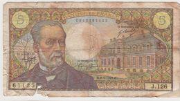 FRANCE 5 Francs Pasteur 8/1/1970 61/12 J.126 G - 5 F 1966-1970 ''Pasteur''