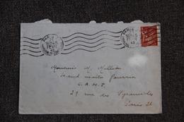 Enveloppe Timbrée De PARIS à PARIS - Lettres & Documents