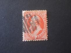 UNITED STATES EE.UU ÉTATS-UNIS US USA 1870 7c Stanton Orange Red Varieta Color Scott N.149 - Used Stamps