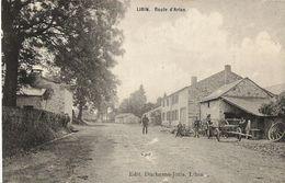 Libin - Route D'Arlon, Charette Personnages - Edit. Duchêne - Libin