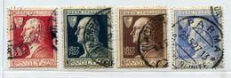 017> ITALIA 1927 Serie Completa ALESSANDRO VOLTA = Valore Catalogo € 22.00 Circa - Usati