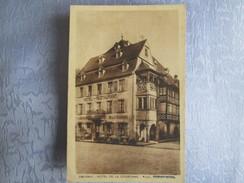 Obernai ;   Hotel De La Couronne - Obernai